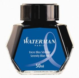 Atrament Waterman niebieski Serenity Blue (50 ml)