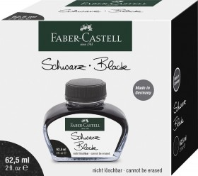 Atrament FaberCastell Black (62,5 ml)